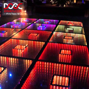 3d Rgb Color Small Square Stage Entertainment Waterproof Led Dance Floors Mirror Dance Floor Infinity Illusion - Buy Wedding Dance Floor,Outdoor Dance Floor,Hire Led Digital Dance Floor Product on Alibaba.com