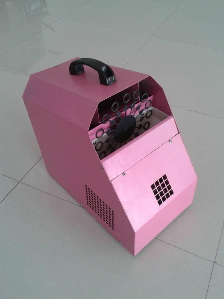 150W Mini Pink Bubble Foaming Machine - Fog Machine - night light