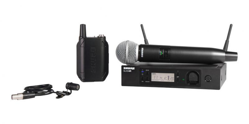 GLX-D Advanced Digital Wireless Systems | Shure Americas