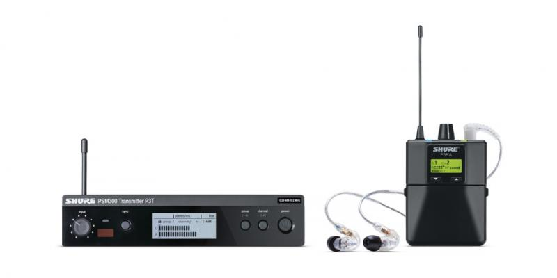 PSM 300 Stereo Personal Monitor System | Shure Americas