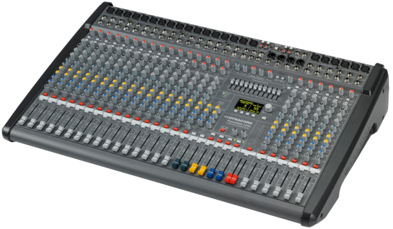 PowerMate 2200-3 22‑channel Compact Power‑Mixer by Dynacord