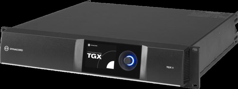 TGX10 DSP power amplifier 4 x 2500W, live by Dynacord