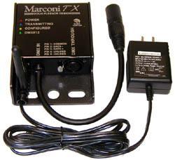 Doug Fleenor Design - Marconi Wireless DMX512 System - Marconi TX