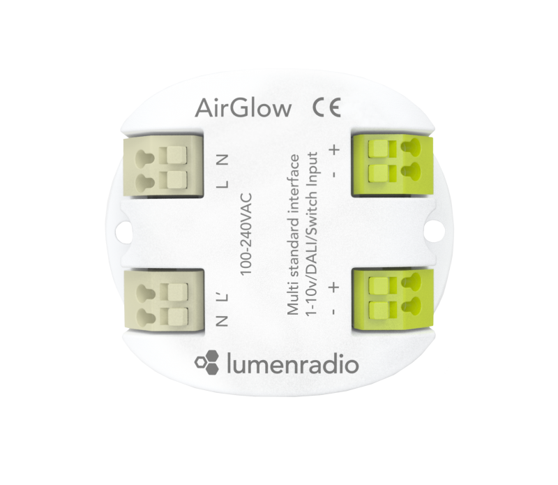 Airglow | Multi standard lighting control solution - LumenRadio