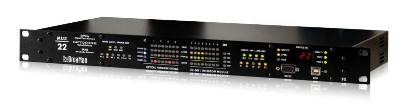 MUX-22 Series | Clear-Com | Partyline, Digital Matrix, IP and Wireless Intercoms