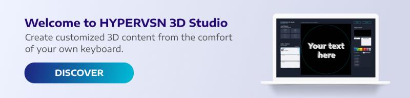 HYPERVSN - 3d holographic animation maker software   Hologram video 3D Studio for HYPERVSN Devices.