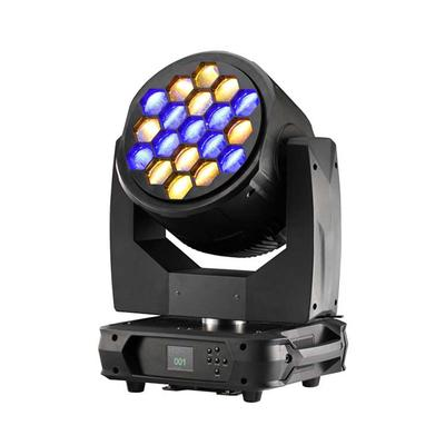 19x40W 4 in 1 RGBW dj led zoom moving head light - Buy Product on Wuxi Changsheng Special Lighting Factory