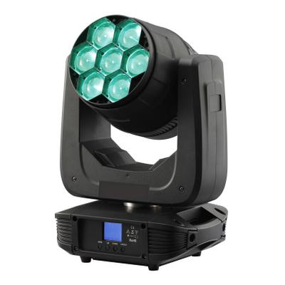 7X40W 4in1 RGBW Led Zoom Moving Head Light - Buy led zoom moving head Product on Wuxi Changsheng Special Lighting Factory