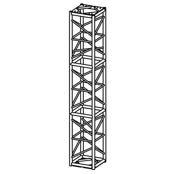 20.5″ x 20.5″ Tower Box Truss