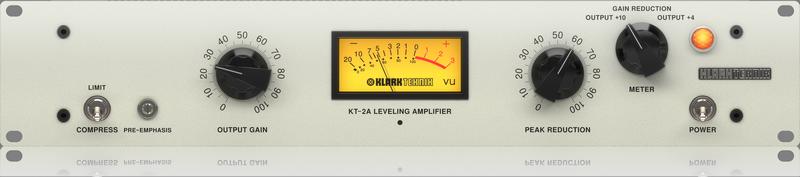 KT-2A | Compressors/Limiters | Signal Processors | Klarkteknik | Categories | MUSIC Tribe