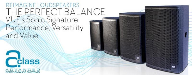 a-Class Advanced Performance Systems — VUE Audiotechnik