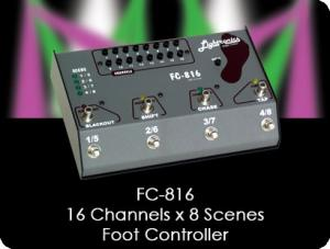 FC816 MIDI Foot Controller