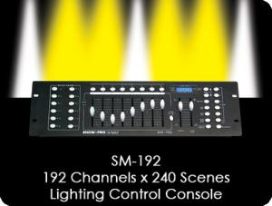 SM192 Moving Light Controller
