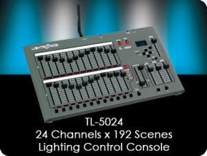 TL5024 Lighting Control Console