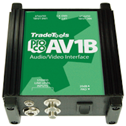 AV1BAudio Visual Passive Direct Box