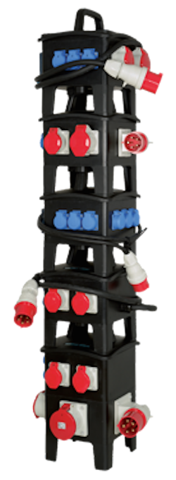 Stackable PDU System