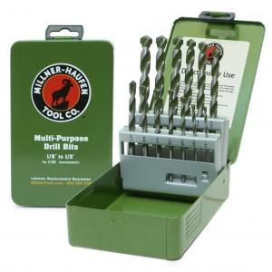 13 Piece Multi-Purpose Drill Bit Set