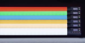 Q-LED Rainbow Linear LED Lamp withRGBX
