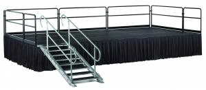 Adjustable Height Stair Unit