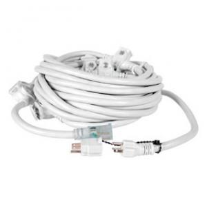 12 AWG, (6) Receptacles; 50' White