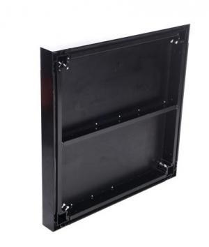 All Black SB Aluminum Deck Series (Hexagrip Plywood Deck Finish)