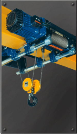RH-Advantage Ultra-Low Headroom Wire Rope Trolley/Hoists