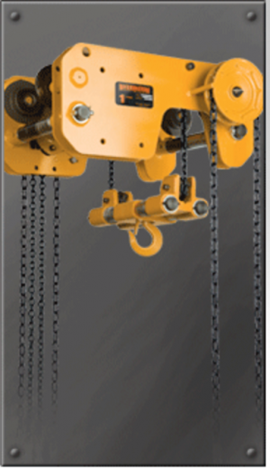 SHB Ultra Low Headroom Trolley Hoist