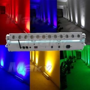 12PCS LED Battery & Wireless DMX Wall Washer