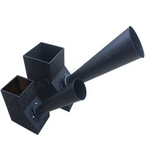 Goliath Confetti Cannon Continuous Flow 6 Inch Gerb