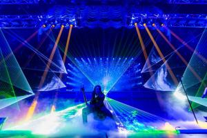 Audience Scanning Lasers
