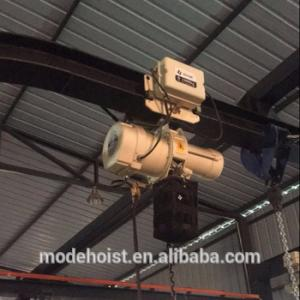 Mini Electric Chain Hoist for industry with trolley from 0.5-2Ton, View 500kg electric chain hoist, Mode Product Details from MODE Science & Technology (Beijing) Co., Ltd. on Alibaba.com