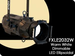 FXLE2032W Warm White  Dimmable LED  Ellipsoidal Lighting Fixture
