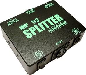 SP1X2 AND SP1X3 MIC SPLITTERS - Catalog - Whirlwind