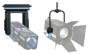 Motorized yokes with DMX control - Spotlight