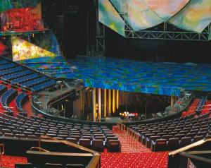 Orchestra Lift - turntable stage, seating platform, stage lift | Gala Systems