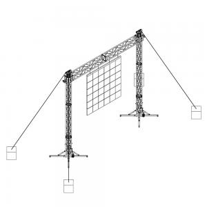 S6-H6-L1,300 - A 6 m span and load capacity up to 1,300 kg | Litec