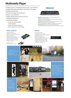 NovaStar   Global Leading LED display control solution   Multimedia Player