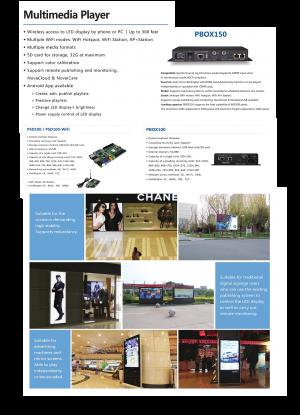 NovaStar | Global Leading LED display control solution | Multimedia Player