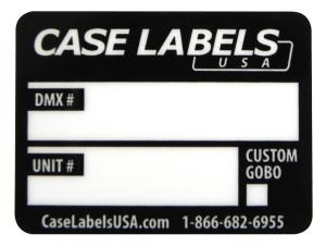 DMX Labels