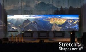 Borderless Projection Screens - Stretch Shapes