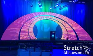 Custom Stage Set Arches