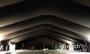 Black Tent Liner - Stretch Shapes