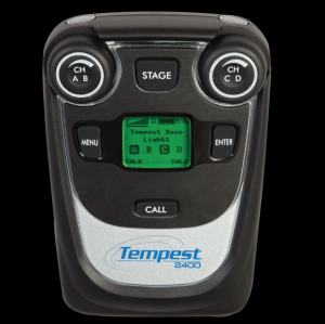 Tempest 2.4GHz 4-Channel Wireless BeltStation