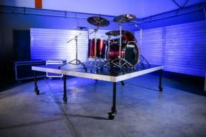 6'X8' Rolling Drum Riser