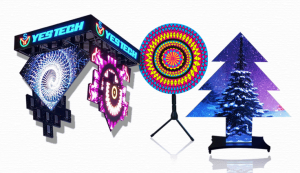 Right-angle, Triangle, Sector display----led screens,led display,full color led,led video wall supplier-Yestech