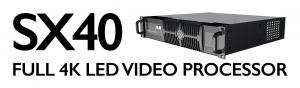 Tessera SX40 4K LED Processor | Brompton Technology