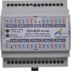 DMX512-RDM Signal Distribution Equipment