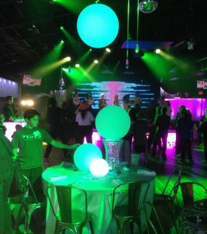 Waterproof Floating or Hanging Sphere in 4 sizes - Astera-LEDs.com ~ Wireless Color LED Solutions for Event and Film Lighting ~ Engineered in Germany ~