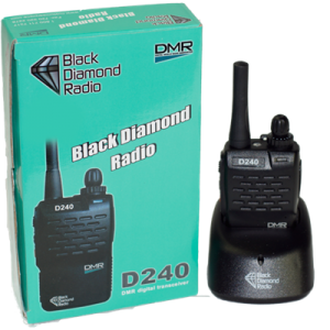 BlackDiamond DMR D240 Two-Way Radio