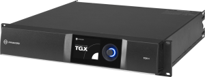TGX10 DSP power amplifier 4 x 2500W, live by Dynacord